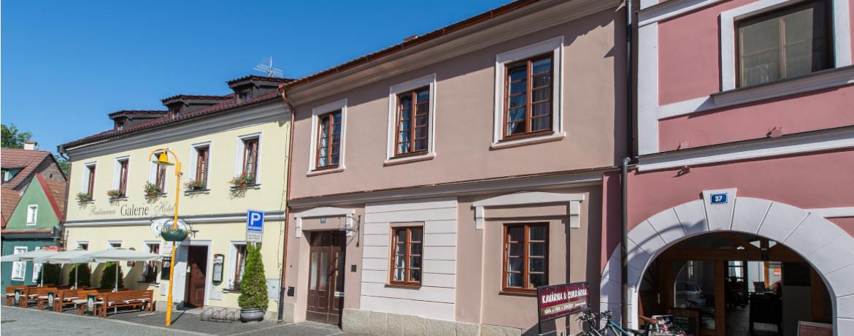 pension třeboň rožmberská ubytování v centru třeboně